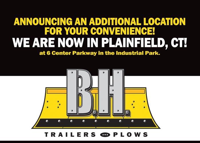 B H Trailers & Plows
